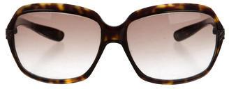 Bottega VenetaBottega Veneta Tortoiseshell Gradient Sunglasses