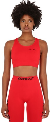 Unravel STRETCH TECHNO JERSEY CROP TOP