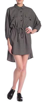 Dress Forum Drawstring Waist Shirt Dress