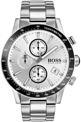 BOSS Hugo Men's Chronograph Rafale Stainless Steel Bracelet Watch 44mm