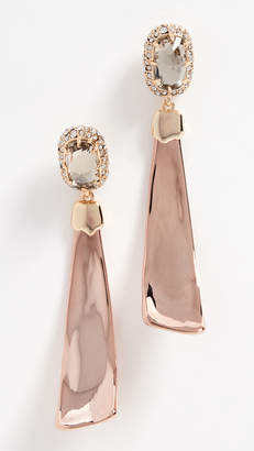 Alexis Bittar Dangling Scooped Crescent Post Earrings