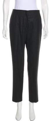 Christian Dior Wool Mid-Rise Pants