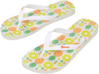 Aerusi Ocean Corte Series Tropical Flip Flop Outdoor Sandals Women's Size 7.5 to 8.5