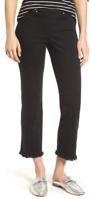 Hue Raw Hem Skimmer Denim Leggings