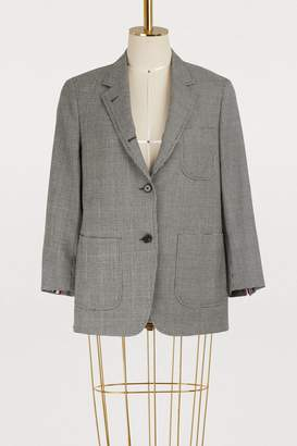Thom Browne Wool sack jacket