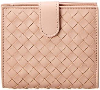 Bottega Veneta Mini Intrecciato Leather Bifold Wallet