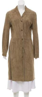 Dolce & Gabbana Lightweight Leather Coat