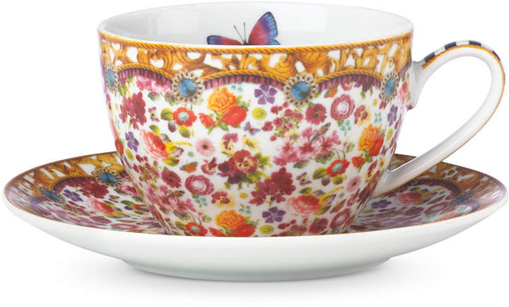 Lenox Melli Mello Isabelle Floral Collection 2-Pc. Cup & Saucer Set, Exclusively available at Macy's