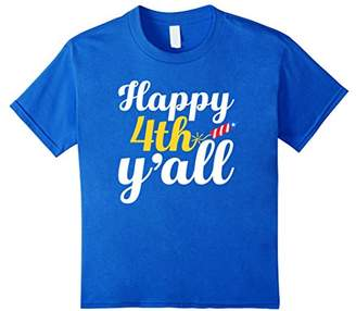 Happy 4th Y'all - Spark Fireworks - Fourth Of July T-Shirt