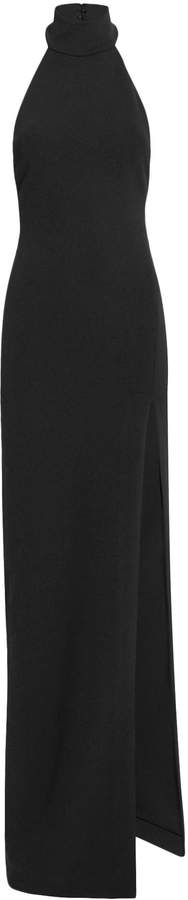 Solace Zadid Black Turtleneck Dress