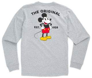 Disney x Vans Mickey Mouse's 90th Classic Boys Long Sleeve T-Shirt