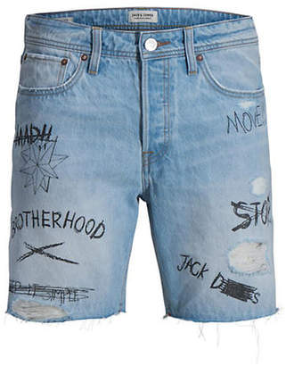 Jack and Jones Regular-Fit Denim Shorts