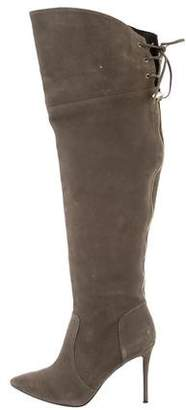 Raye Suede Over-The-Knee Boots