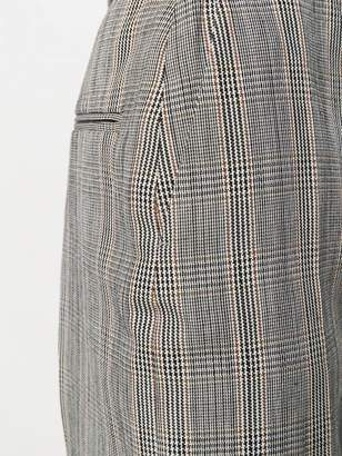 Joseph haim houndstooth check trousers