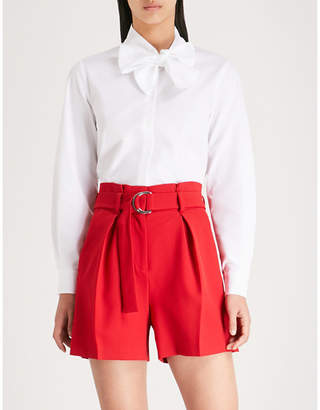 Claudie Pierlot Cheryl cotton-poplin shirt