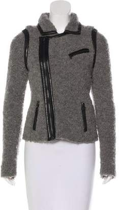 Rag & Bone Wool Zip-Up Jacket