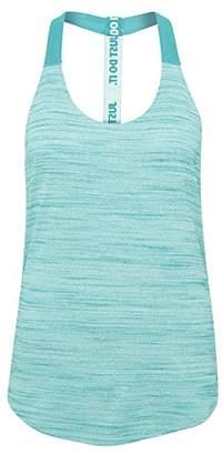 Nike Women's Dri-Fit Elastika Heathered Tank Top Green Glow/Radiant Emerald/Radiant Emerald Tank Top SM