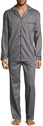 STAFFORD Stafford Men's Long Sleeve / Long Leg Pajama Set - Tall