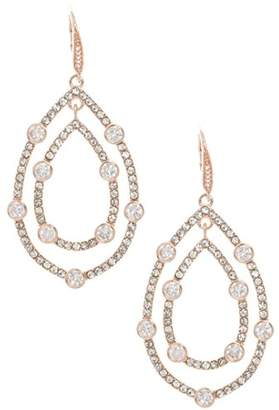 Anne Klein Women's Pave Orbital Drop Earrings