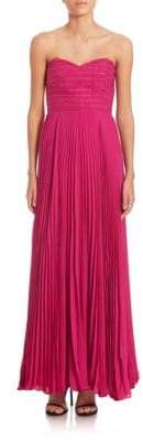 Parker Elegant Marielle Pleated Dress