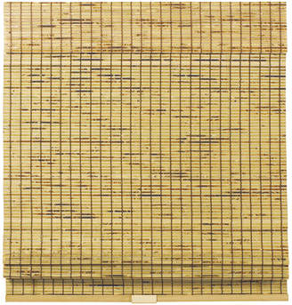 Asstd National Brand Burnout Bamboo Cordless Roman Shade