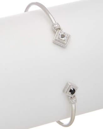 Judith Ripka Renassiance Silver 0.41 Ct. Tw. Gemstone Cuff