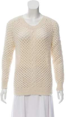 Etoile Isabel Marant Fur Knitted Sweater