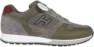 Hogan H321 H Flock Sneakers