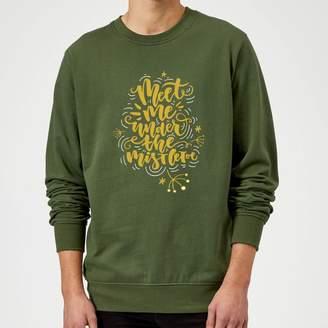 1cbe300efd6e2d The Christmas Collection Meet Me Under The Mistletoe Sweatshirt