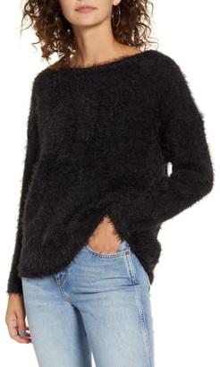 Only Gaia Eyelash Sweater
