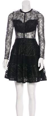 Alexis Adal Lace Mini Dress