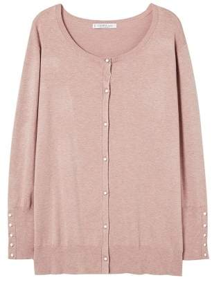 Violeta BY MANGO Fine-knit cardigan