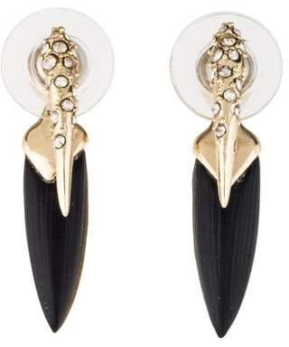 Alexis Bittar Crystal Encrusted Spear Ear Jackets