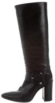 Sartore Leather Mid-Calf Boots