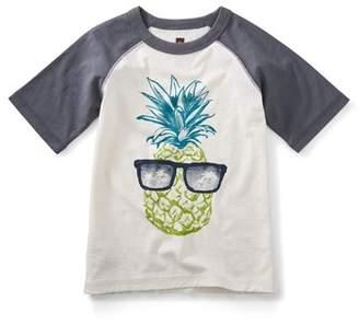 Tea Collection Sunshine Pineapple Graphic Shirt