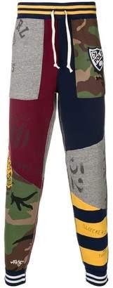 Polo Ralph Lauren patchwork track pants