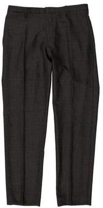 Burberry Cropped Flat Front Dress Pants