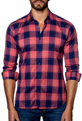 Jared Lang Checked Sport Shirt