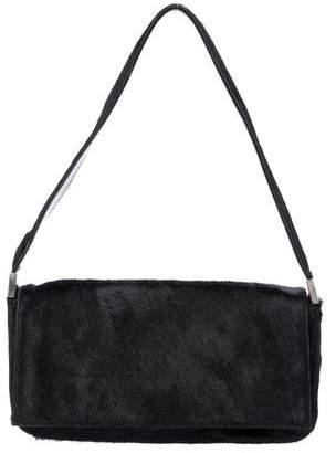 Sergio Rossi Ponyhair Shoulder Bag