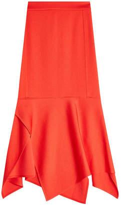 Victoria Beckham Sculptural Hem Skirt