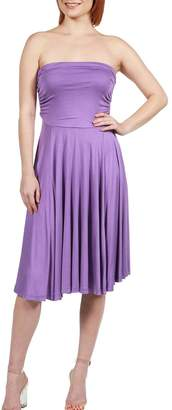 24/7 Comfort Apparel Irresistible Strapless Dress