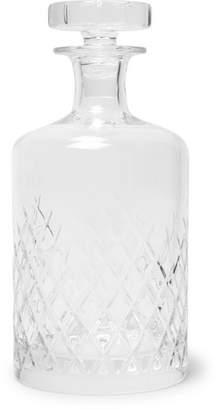 clear Soho Home - Barwell Cut Crystal Decanter