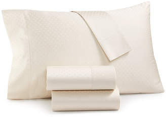 Sunham CLOSEOUT! Agusta Dobby 600 Thread Count 4-Pc. Queen Sheet Set