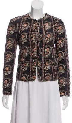 Etoile Isabel Marant Quilted Floral Print Jacket