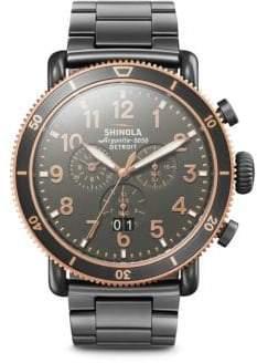 Shinola Runwell Sport Gunmetal Watch