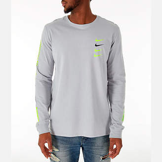 Nike Men's Sportswear Microbranding Long Sleeve T-Shirt