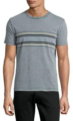 Lucky Brand Acid Wash Chest Cotton Tee