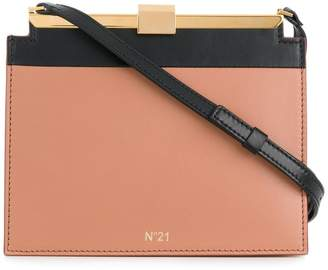 No.21 structured mini shoulder bag