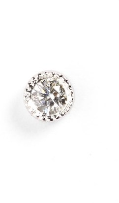 Women's Maria Tash Scalloped Diamond Stud Earring $290 thestylecure.com