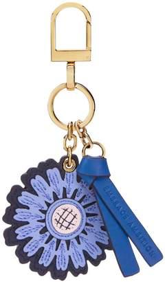Tory Burch Foundation Sunflower Key Fob